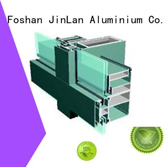 systems walls aluminum JinLan aluminum curtain wall