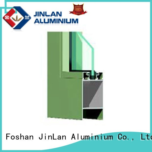 aluminium section door window extrusion JinLan