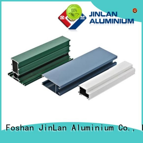 solar pipe JinLan aluminum rectangular tubing