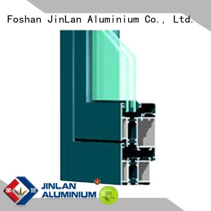 JinLan Brand frame sand aluminium section aluminium wood