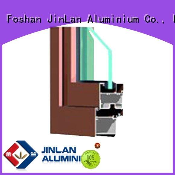 aluminum windows JinLan aluminium section