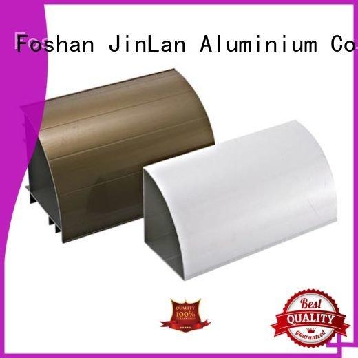 Custom solar profile aluminium extrusion manufacturers in china JinLan systems