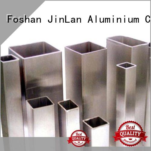 pipe profile stand aluminum rectangular tubing JinLan Brand