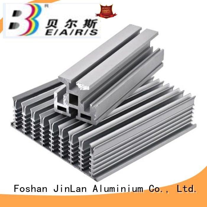pipe profile solar JinLan aluminium extrusion manufacturers in china