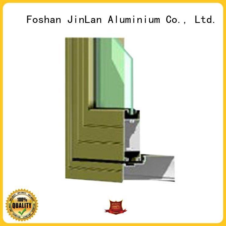 aluminium doors windows frame Warranty JinLan