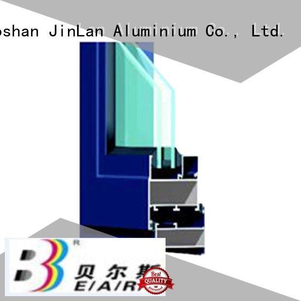 JinLan aluminium section profile wood sliding