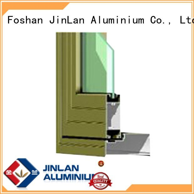 Custom blasting aluminium extrusion sections aluminium aluminium section