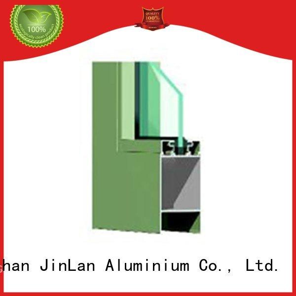 high quality windows aluminium doors hot selling frame JinLan Brand