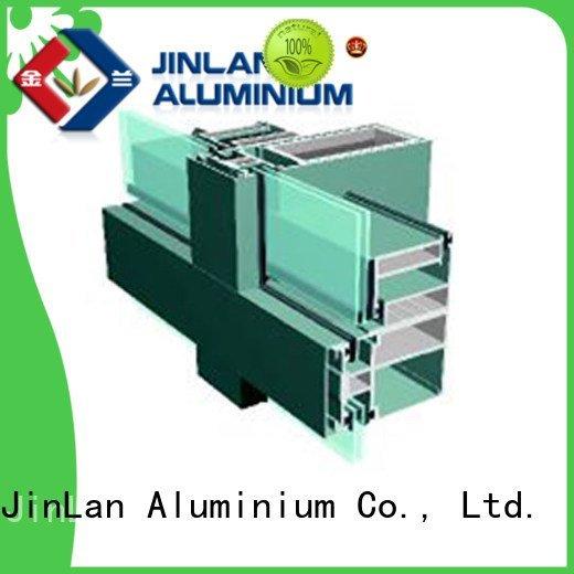 JinLan Brand walls aluminium curtain wall aluminum wall