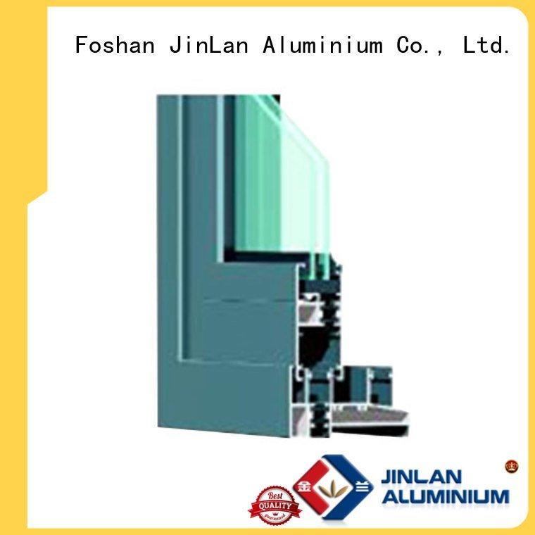 JinLan Brand window windows aluminium aluminium extrusion sections section