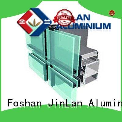 Custom series aluminum curtain wall systems aluminium curtain wall