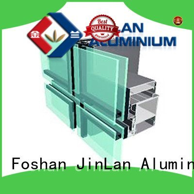 Custom series aluminum curtain wall systems aluminium curtain wall