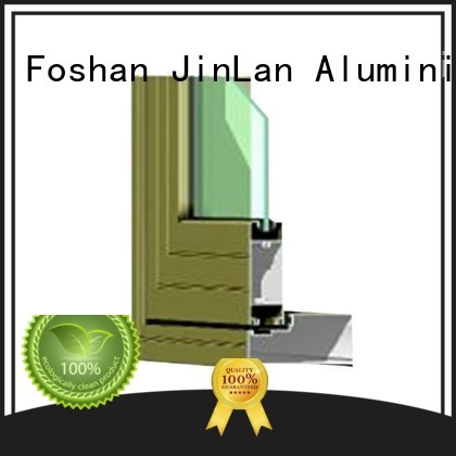 Quality JinLan Brand aluminum high quality aluminium sliding doors
