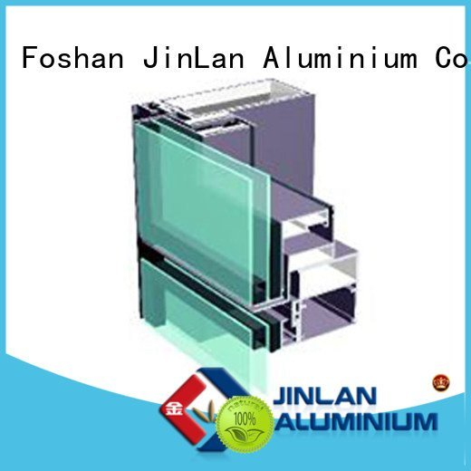 curtain aluminium aluminum JinLan aluminum curtain wall