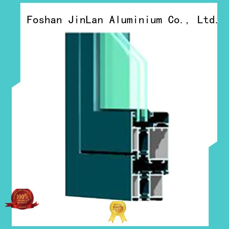 Hot aluminium section details section windows JinLan Brand