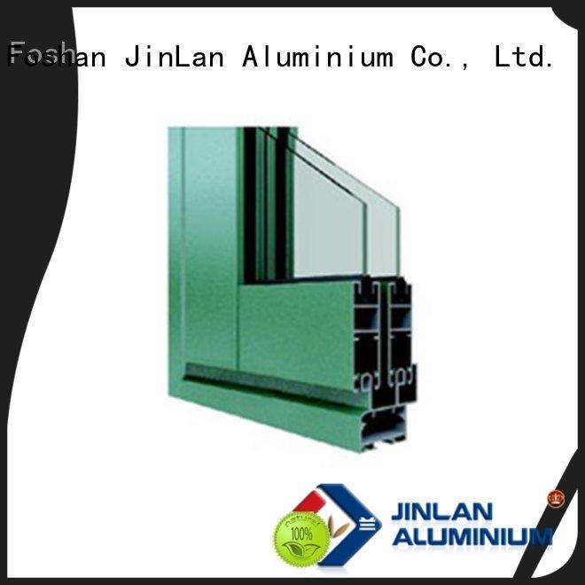 section customized JinLan aluminium extrusion sections