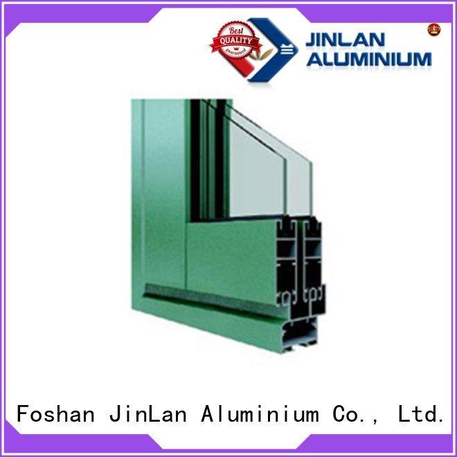 JinLan Brand blasting profiles aluminium section profile frame