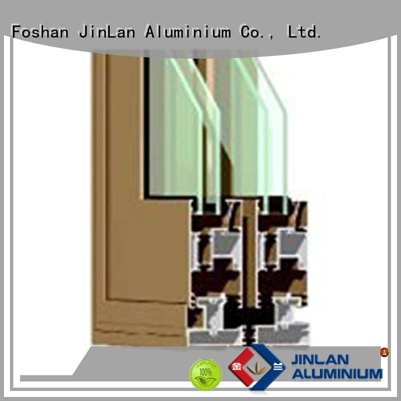 aluminium section aluminium window aluminium extrusion sections JinLan Warranty