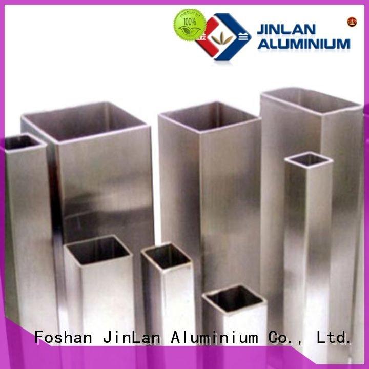 profile aluminium aluminum rectangular tubing JinLan