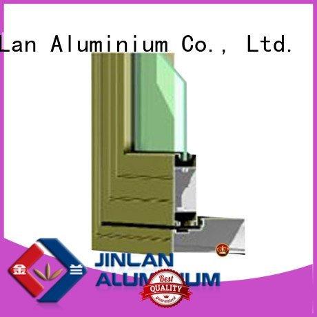 JinLan Brand window frame profiles aluminium extrusion sections door