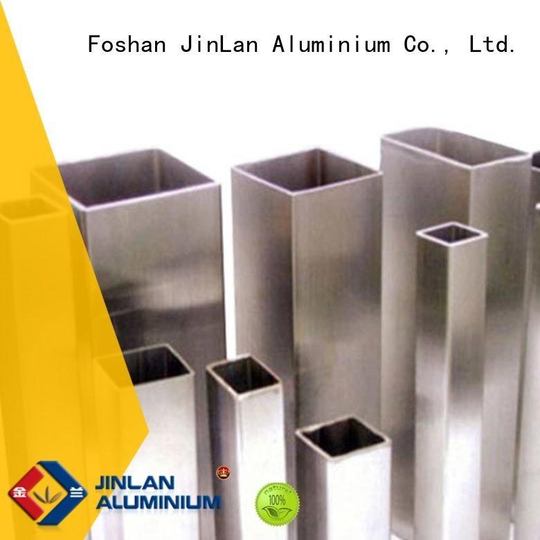 pipe solar aluminum rectangular tubing JinLan Brand