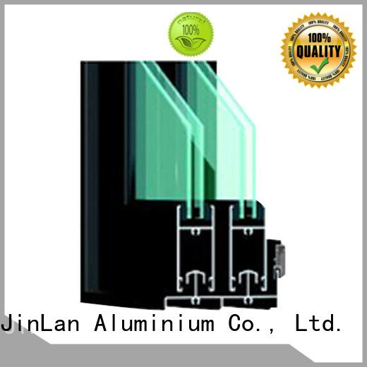 Hot aluminium extrusion sections section JinLan Brand