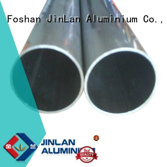 aluminum rectangular tubing systems aluminium extrusion manufacturers in china JinLan Brand