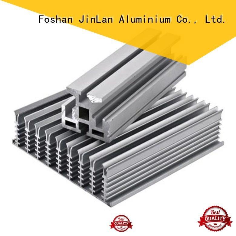 JinLan Brand pipe aluminum rectangular tubing solar supplier