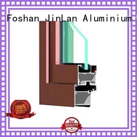 sill top selling trendy aluminium doors JinLan manufacture