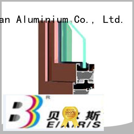 JinLan aluminium extrusion sections aluminium windows window section
