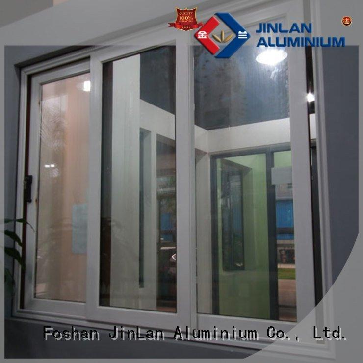 Custom aluminium windows frame aluminium windows JinLan