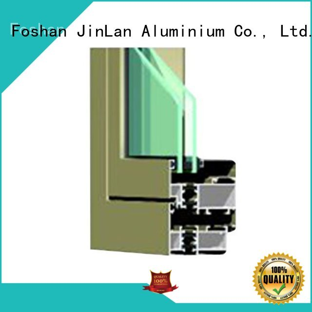 Hot aluminium doors section JinLan Brand