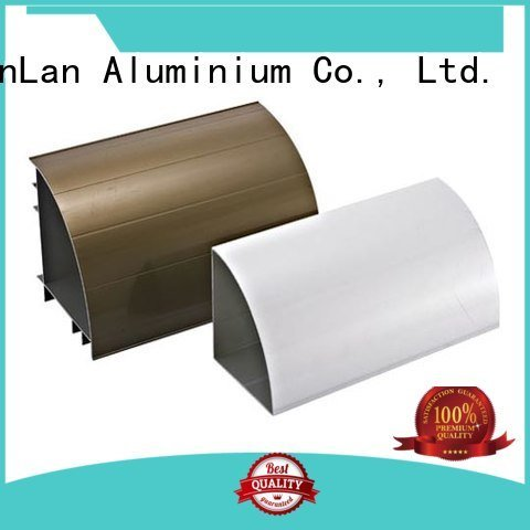 JinLan Brand stand aluminum rectangular tubing profile systems