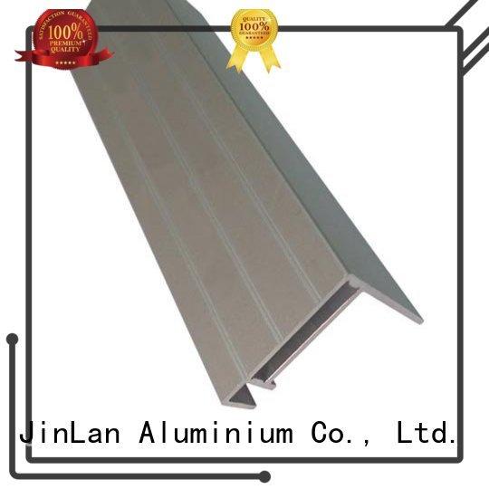 JinLan Brand aluminium systems aluminum rectangular tubing