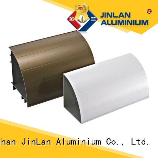 aluminium stand stand aluminium extrusion manufacturers in china JinLan aluminum rectangular tubing solar extrusion