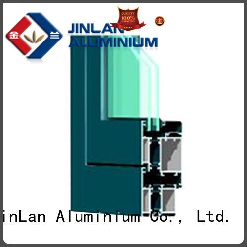 profiles grain wood aluminium extrusion sections JinLan