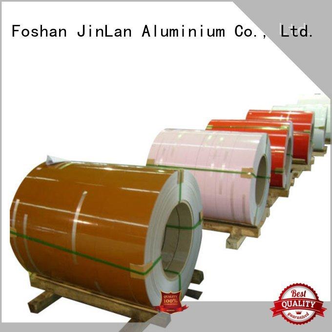 aluminum prepainted JinLan aluminum sheet thickness
