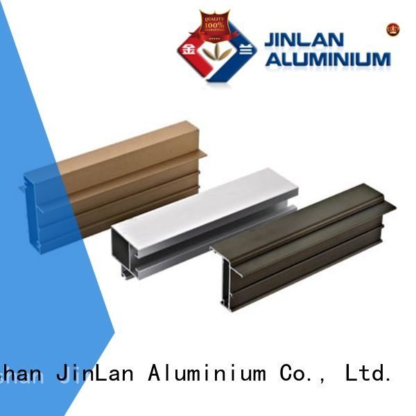 systems aluminium solar pipe JinLan aluminum rectangular tubing
