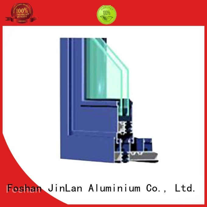Wholesale section aluminium doors trendy JinLan Brand
