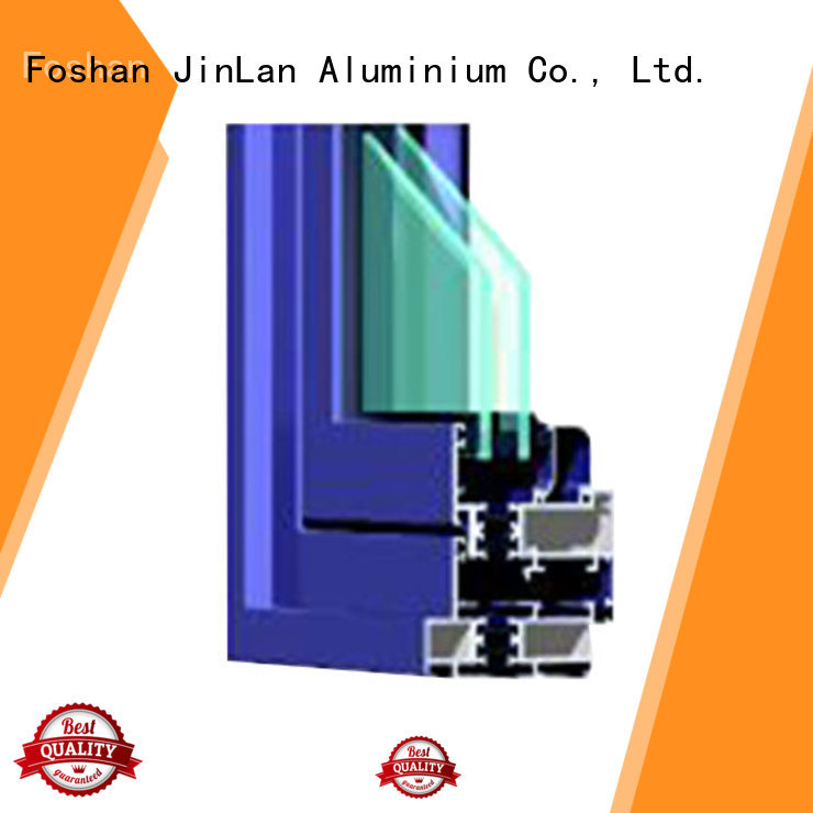 blasting profiles aluminium extrusion sections frame JinLan