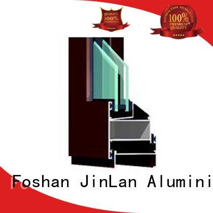 customized aluminium aluminium section JinLan Brand