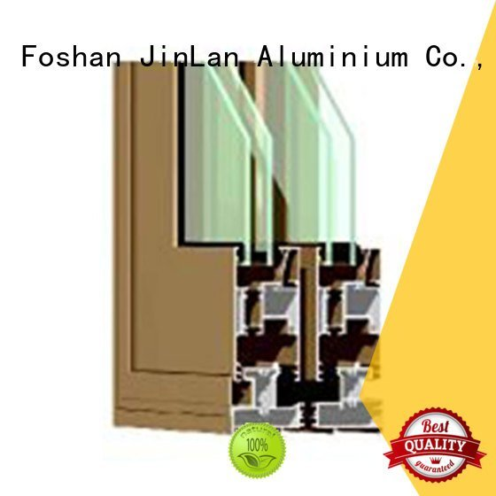 aluminium window customized JinLan aluminium extrusion sections