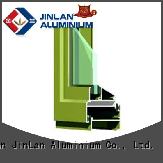 Wholesale customized sliding aluminium extrusion sections JinLan Brand