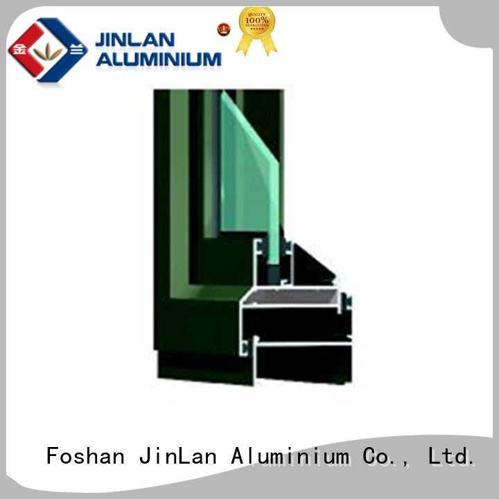 aluminium section door JinLan Brand aluminium extrusion sections