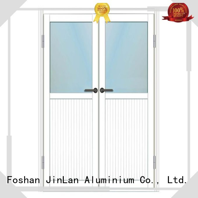 JinLan Brand best sliding aluminum aluminium sliding doors