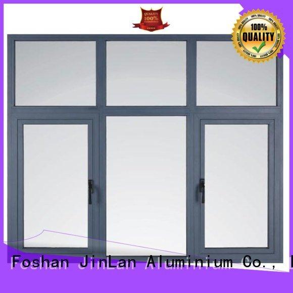 JinLan casement window aluminium windows aluminum windows