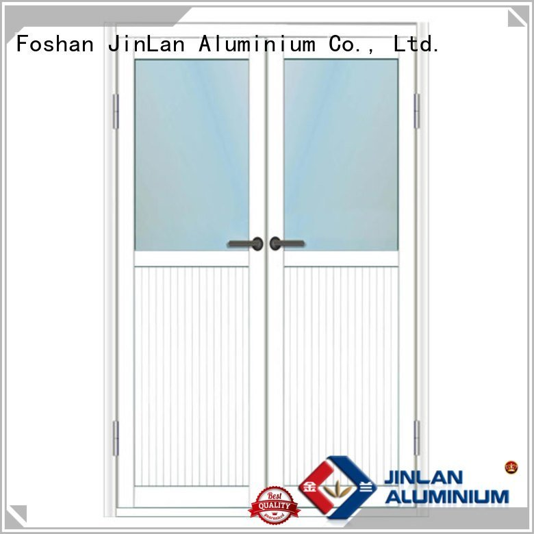 sliding casement frame JinLan aluminium window frames