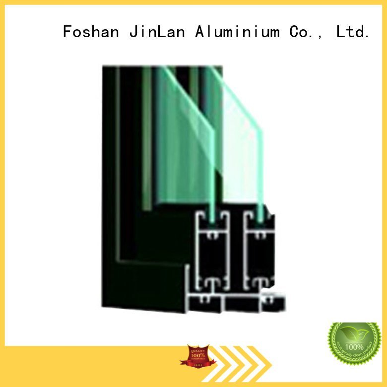 JinLan Brand window aluminium windows aluminium section