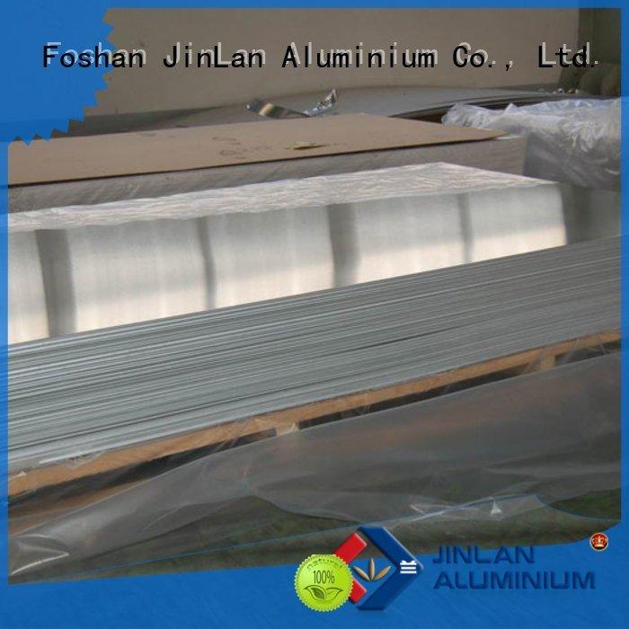 JinLan Brand sheets aluminum coils aluminum sheet thickness