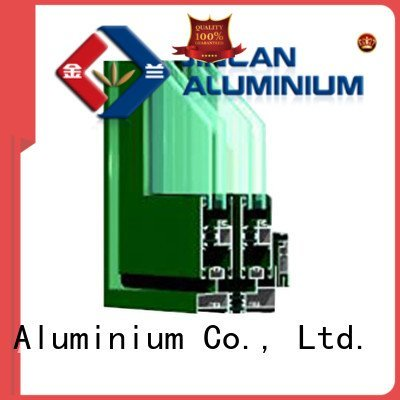 aluminium section extrusion JinLan Brand aluminium extrusion sections